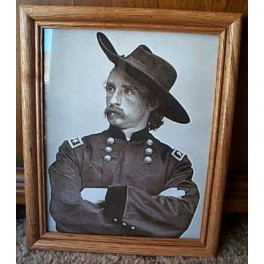 Gen. George Armstrong Custer Framed 8x10 Print