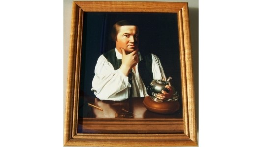 Paul Revere Framed 8x10 Print